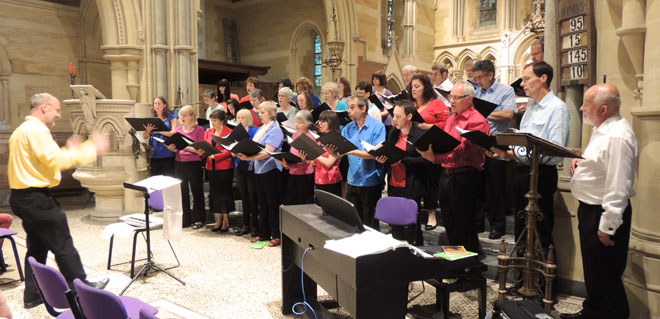 Petersfield Choir Privett Church Concert