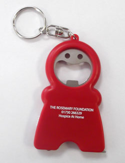 Mr Happy Keyring