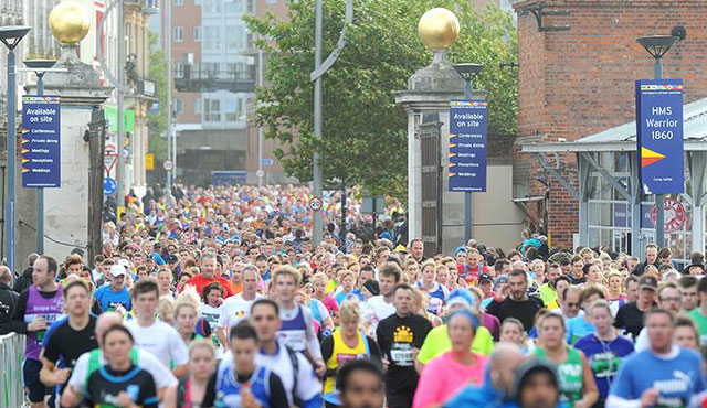 BUPA Great South Run 2014