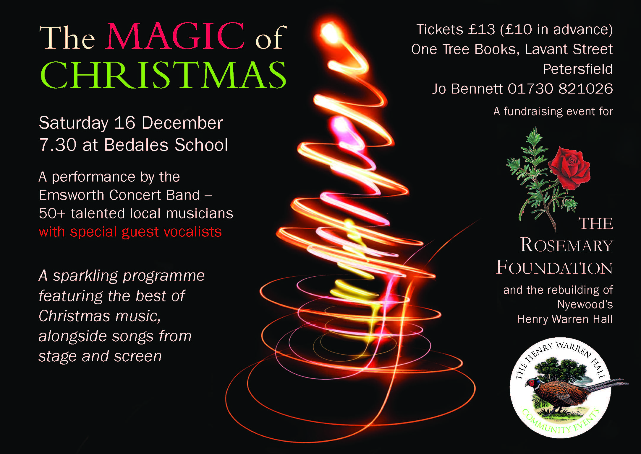 The Emsworth Concert Band Magic of Christmas concert - The Rosemary  Foundation